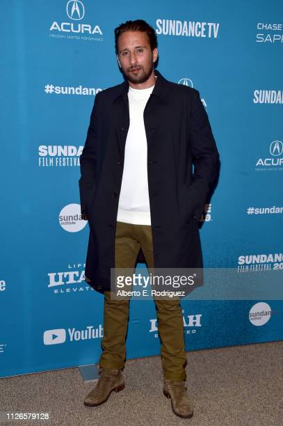 Matthias Schoenaerts attends the The Mustang Sundance Premiere on January 31 2019 in Park City Utah