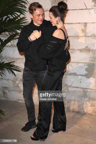 Matthias Schweighoefer and his girlfriend Ruby O. Fee during the Pantaflix Party as part of the 70th Berlinale International Film Festival at Neuzeit...