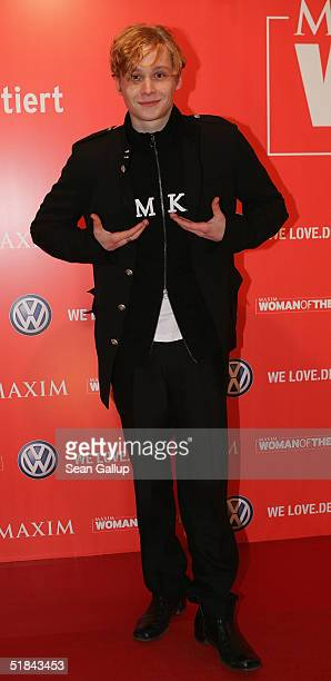 Matthias Schweighoefer arrives at Maxim's 'Woman of the Year' Award at the Axel Springer building on December 9 2004 in Berlin Germany