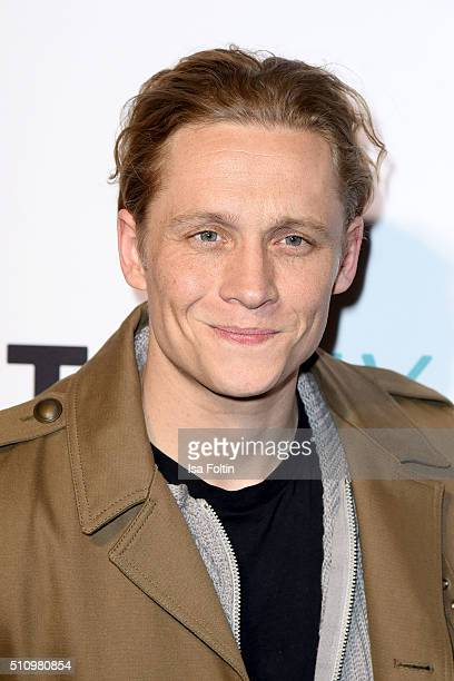 Matthias Schweighoefer attends the PantaFlix Party on February 17, 2016 in Berlin, Germany.