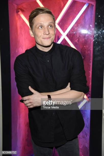 Matthias Schweighoefer during the Pantaflix Panta Party on February 19 2018 in Berlin Germany