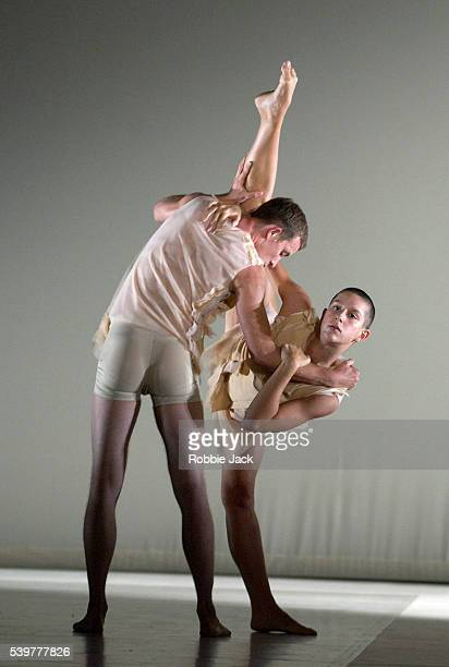 Matthias Sperling and Silvia Parmeggiani in the Random Dance production 'Amu' at Sadler's Wells