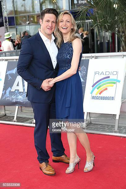Matthias Steiner and his wife Inge Steiner during the Radio Regenbogen Award 2016 at Europapark Rust on April 22 2016 in Rust Germany