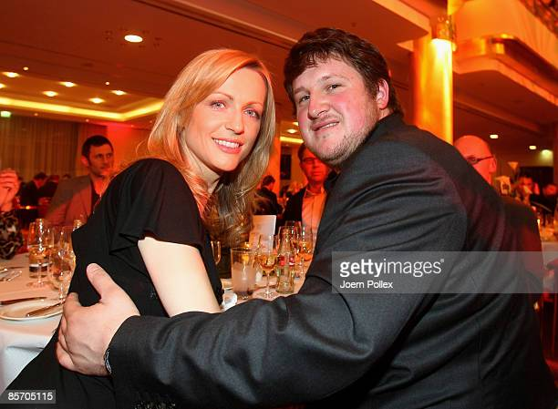 Matthias Steiner and Inge Posmyk are seen during the Herbert Award 2009 Gala at the Elysee Hotel on March 30 2009 in Hamburg Germany