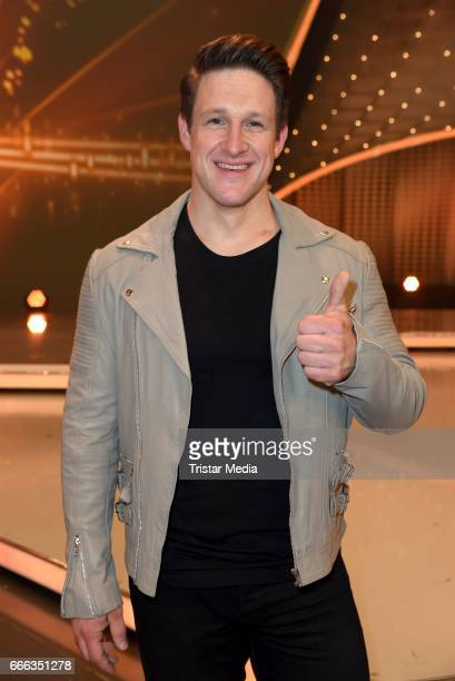 Matthias Steiner during the after show party of the television show 'Willkommen bei Carmen Nebel' on April 8, 2017 in Magdeburg, Germany.