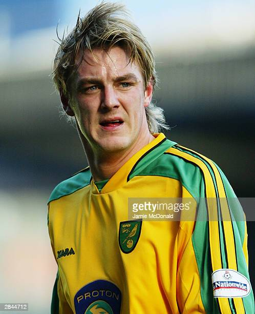 Matthias Svensson of Norwich City in action during the Nationwide League Division One match between Ipswich Town and Norwich City held on December 21...