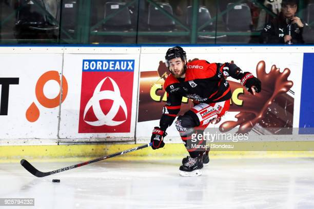 Matthias Terrier of Bordeaux during the Magnus League Playoff match between Bordeaux and Gap on February 28 2018 in Bordeaux France