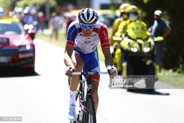 Matthieu Ladagnous of France and Team Groupama - FDJ / Breakaway / during the 107th Tour de France 2020, Stage 11 a 167,5km stage from...