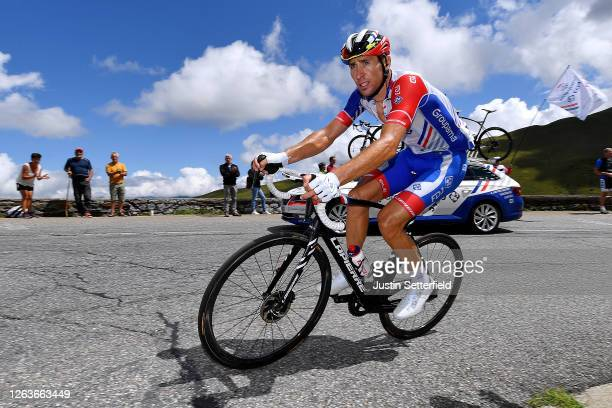 Matthieu Ladagnous of France; and Team Groupama - FDJ / during the 44th La Route d'Occitanie - La Depeche du Midi 2020, Stage 3 a 163,5km stage from...