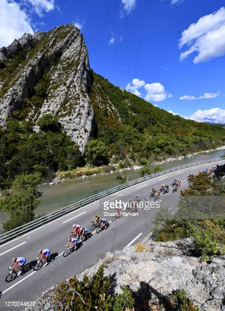 Matthieu Ladagnous of France and Team Groupama - FDJ / Rudy Molard of France and Team Groupama - FDJ / Thibaut Pinot of France and Team Groupama -...