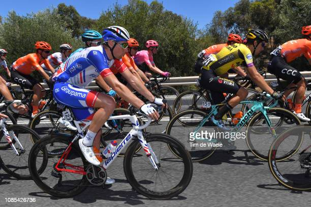 Matthieu Ladagnous of France and Team Groupama-FDJ / during the 21st Santos Tour Down Under 2019, Stage 6 a 151,5km stage from McLaren Vale to...