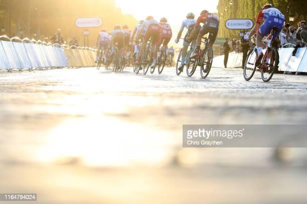 Matthieu Ladagnous of France and Team Groupama-FDJ / Pello Bilbao of Spain and Astana Pro Team / Ilnur Zakarin of Rusia and Team Katusha-Alpecin /...