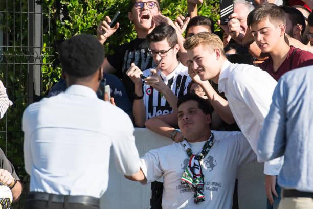 ITA: Matthijs De Ligt Arrives In Turin