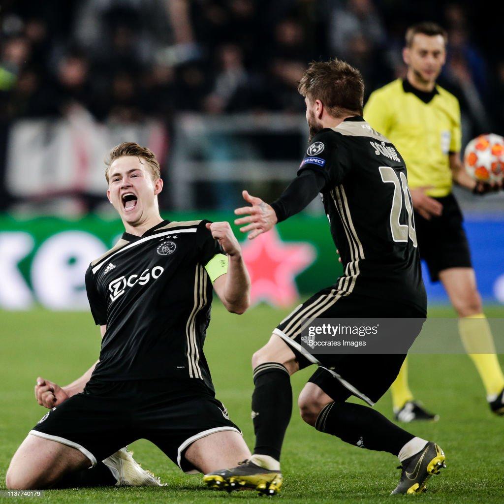 Juventus v Ajax - UEFA Champions League : News Photo