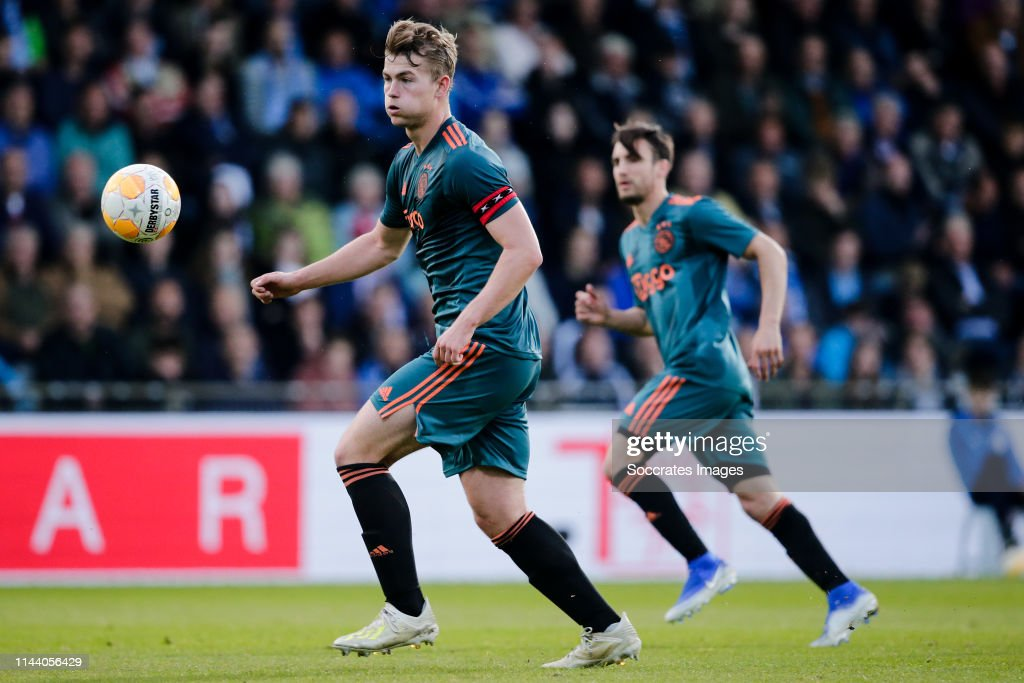 De Graafschap v Ajax - Dutch Eredivisie : News Photo