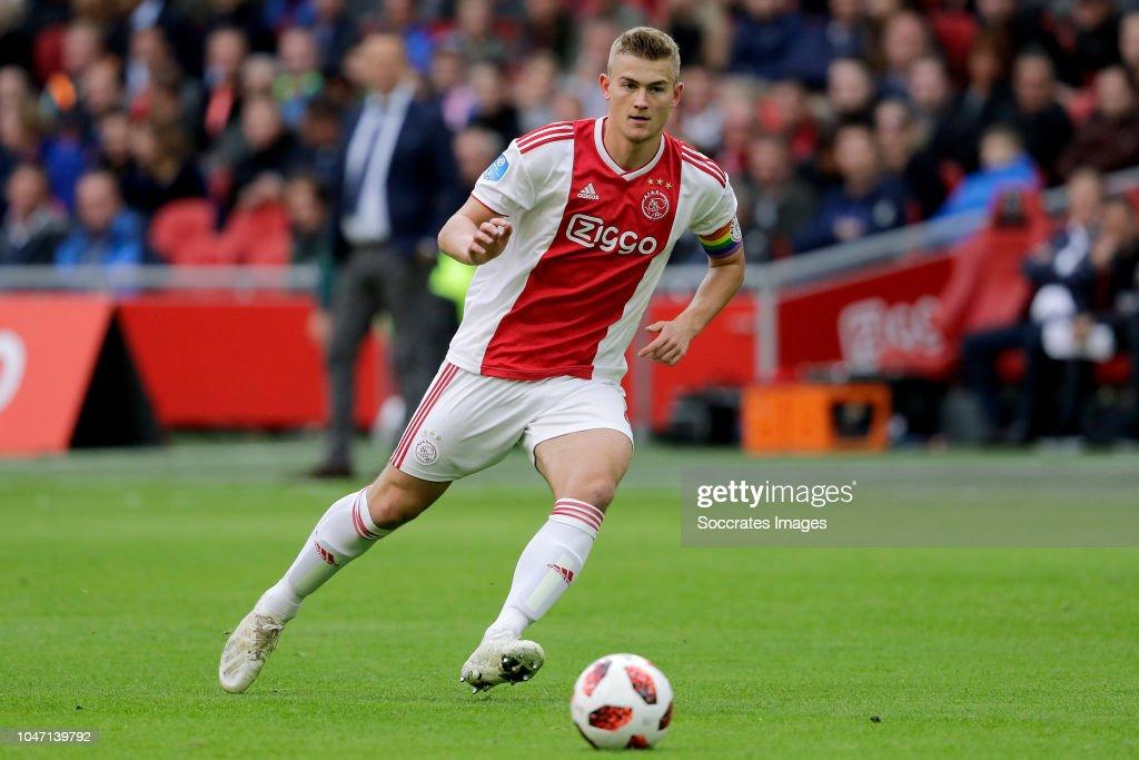 Ajax v AZ Alkmaar - Dutch Eredivisie : ニュース写真