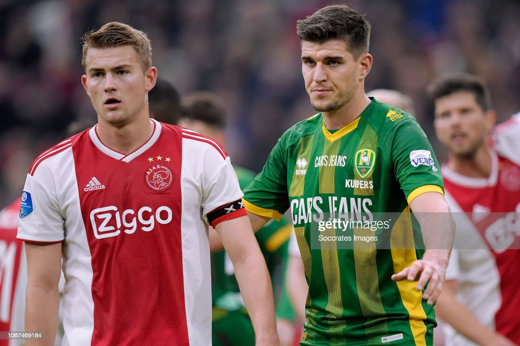 Ajax v ADO Den Haag - Dutch Eredivisie : Fotografia de notícias