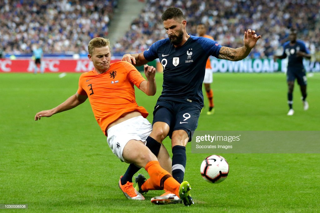 France  v Holland  -UEFA Nations league : News Photo