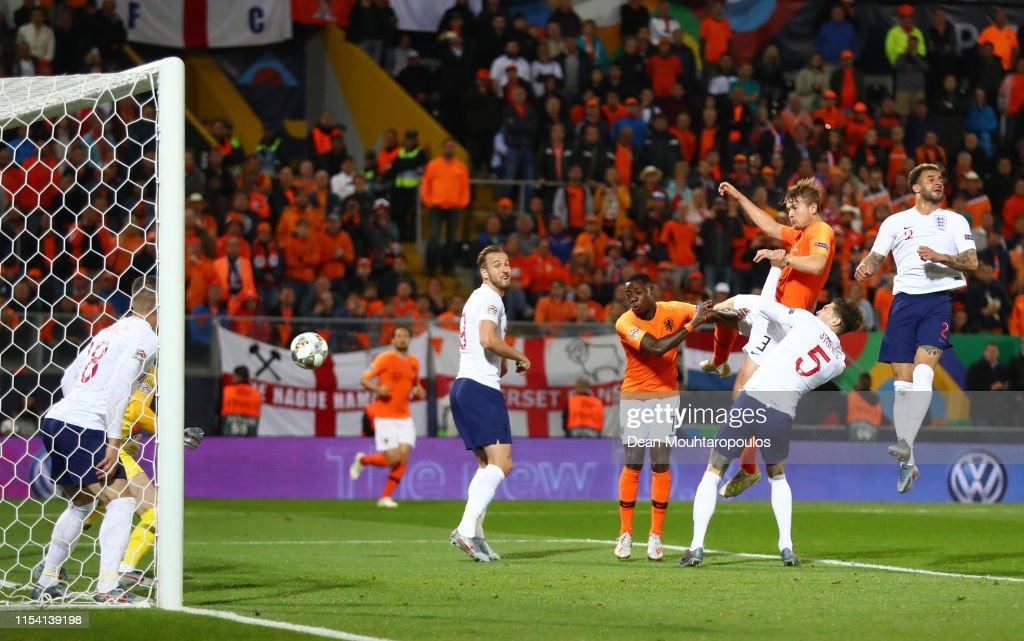 Netherlands v England - UEFA Nations League Semi-Final : News Photo