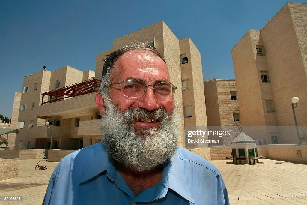 Matti Dan, the head of Ateret Cohanim movement, is seen at the Maale Zeitim (Olive Heights) religious settlement on the Mount of Olives August 18, 2008 in East Jerusalem. The settlement, an apartment complex which houses dozens of families, is being built with funding from the Florida-based bingo and gambling magnate Irving Moskowitz by the Ateret Cohanim organization, which is dedicated to expanding Jewish settlement in East Jerusalem, the half of the city that Israel captured from Jordan in the 1967 Six Day War.