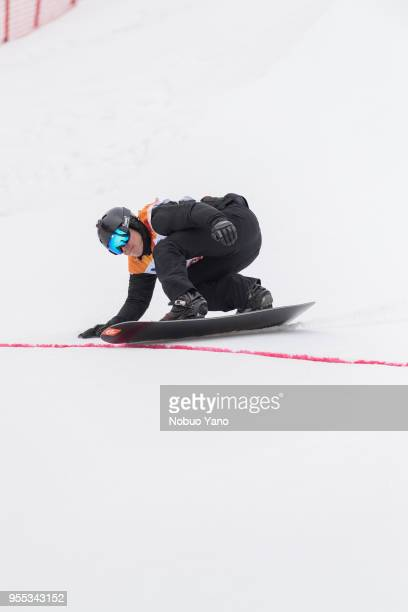 Matti SUURHAMARI of Finland competes in the men's Banked Slalom SBLL2 Run3 during day 7 of the PyeongChang 2018 Paralympic Games on March 16 2018 in...