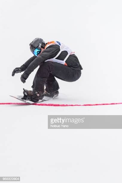 Matti SuurHamari of Finland competes in the Snowboard Men's Bank Slalom SBULL2 Run1 during day 7 of the PyeongChang 2018 Paralympic Games on March 16...