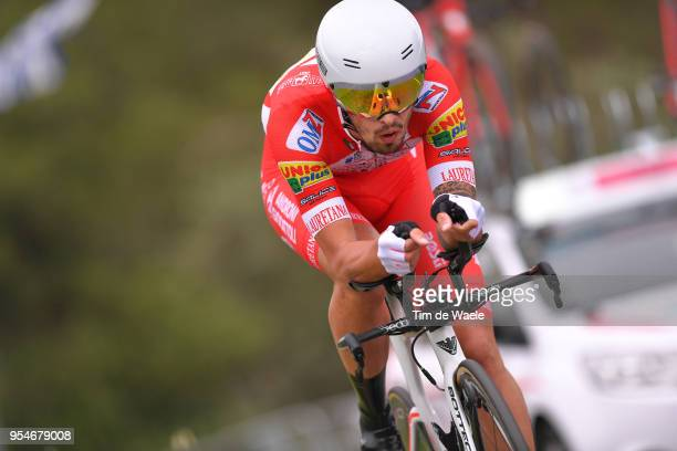 Mattia Cattaneo of Italy and Team Androni Giocattoli-Sidermec / during the 101th Tour of Italy 2018, Stage 1 a 9,7km Individual Time Trial from...