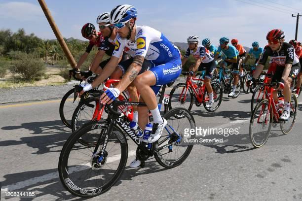 Mattia Cattaneo of Italy and Team Deceuninck Quick Step / William Clarke of Australia and Team Trek Segafredo / Chris Froome of The United Kingdom...