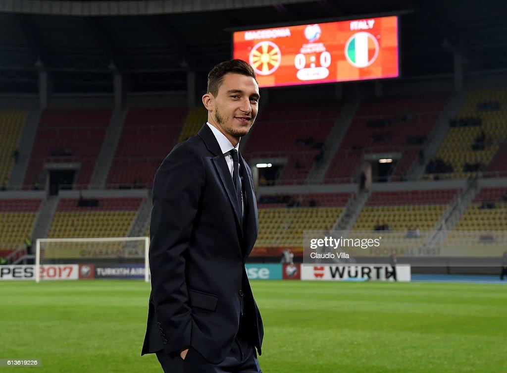 FYR Macedonia v Italy - FIFA 2018 World Cup Qualifier : News Photo