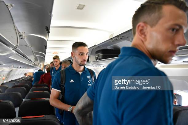 Mattia De Sciglio departure on August 4 2017 in Turin Italy