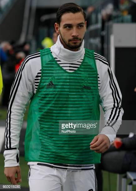 Mattia De Sciglio during Serie A match between Juventus v Atalanta in Turin on March 14 2018