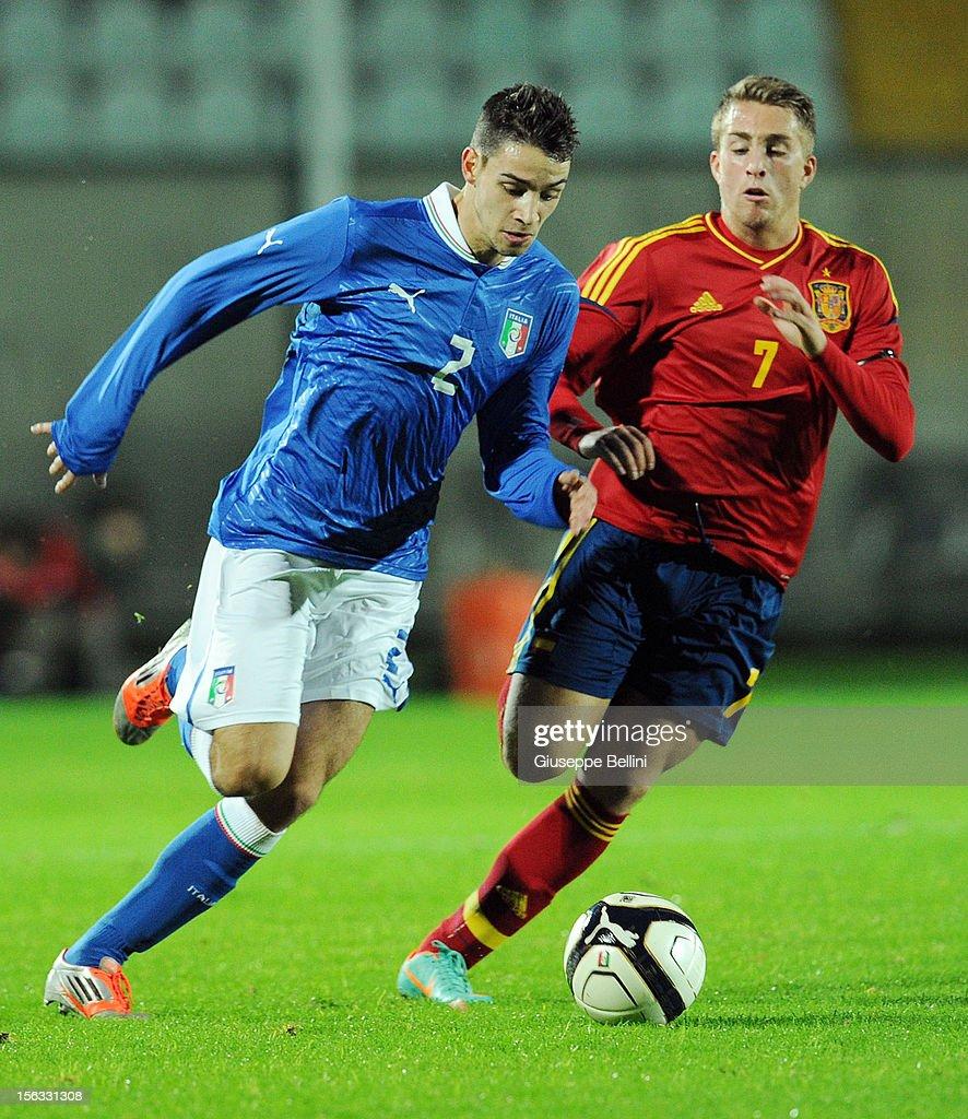 Italy U21 v Spain U21 - Under 21 International Friendly : News Photo