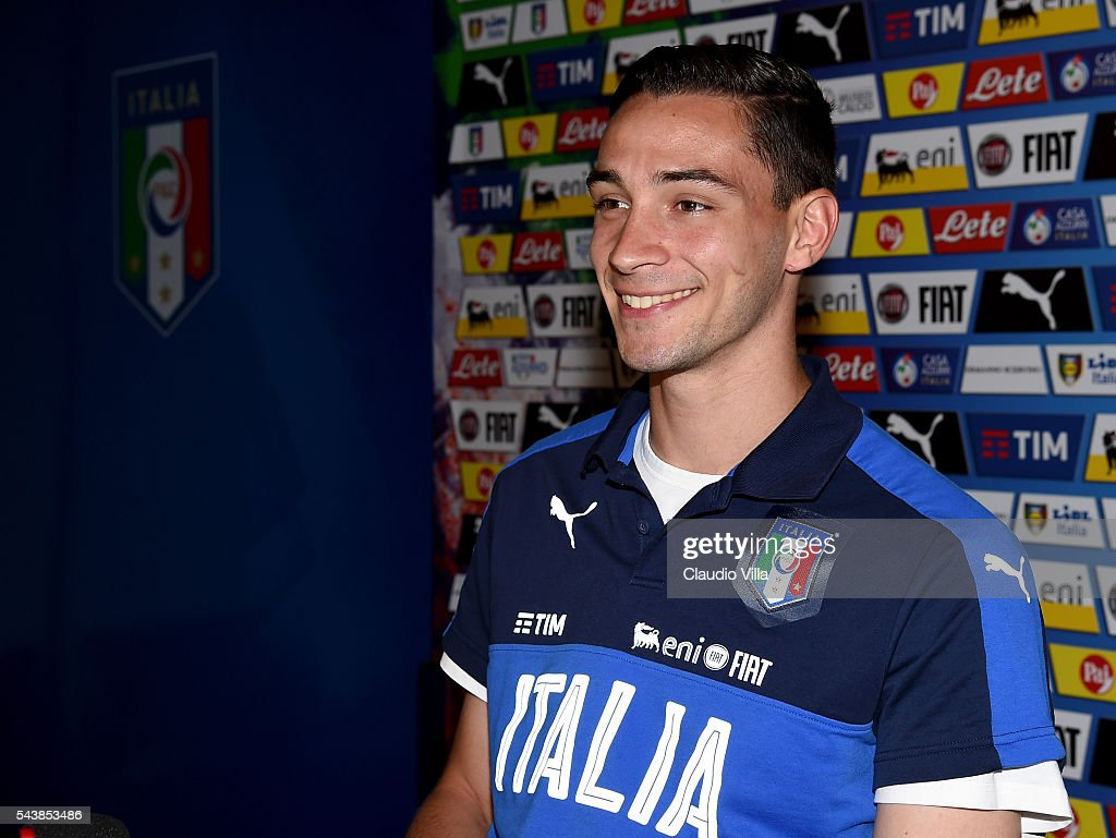 Italy Press Conference : News Photo