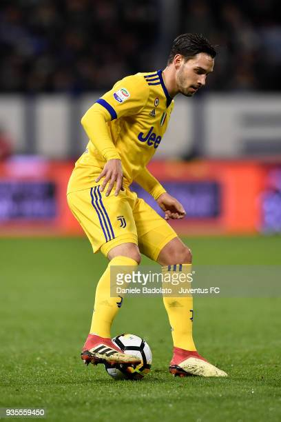 Mattia De Sciglio of Juventus during the serie A match between Spal and Juventus at Stadio Paolo Mazza on March 17 2018 in Ferrara Italy