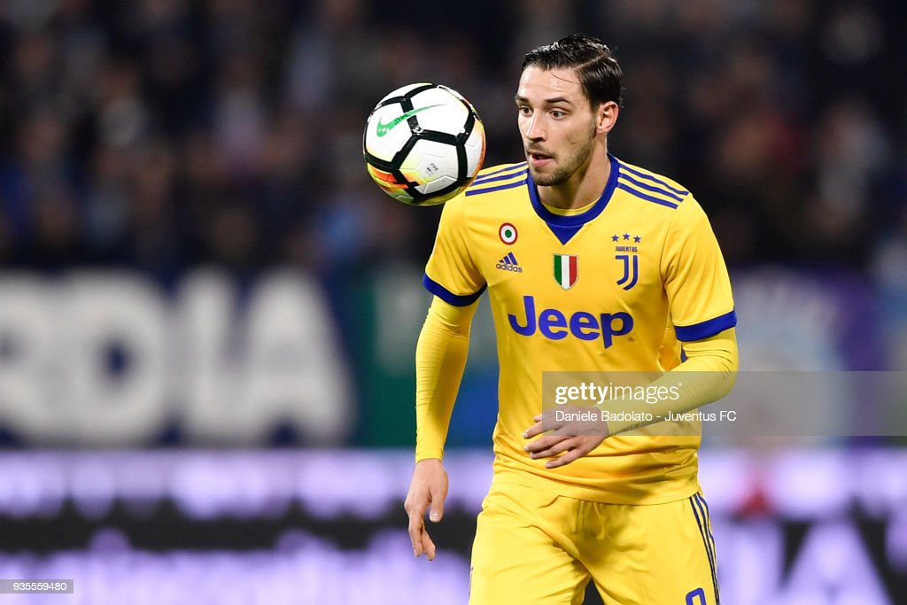 Mattia De Sciglio of Juventus during the serie A match between Spal and Juventus at Stadio Paolo Mazza on March 17, 2018 in Ferrara, Italy.