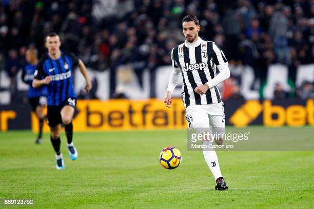 Mattia De Sciglio of Juventus FC in action during the Serie A football match between Juventus FC and Fc Internazionale The match ended in a 00 tie