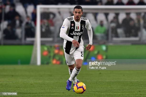Mattia De Sciglio of Juventus in action during the Serie A match between Juventus and Chievo at Allianz Stadium on January 21 2019 in Turin Italy