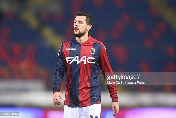 Mattia Destro of Bologna FC looks dejected at the end of the Serie A match between Bologna FC and Atalanta BC at Stadio Renato Dall'Ara on November...
