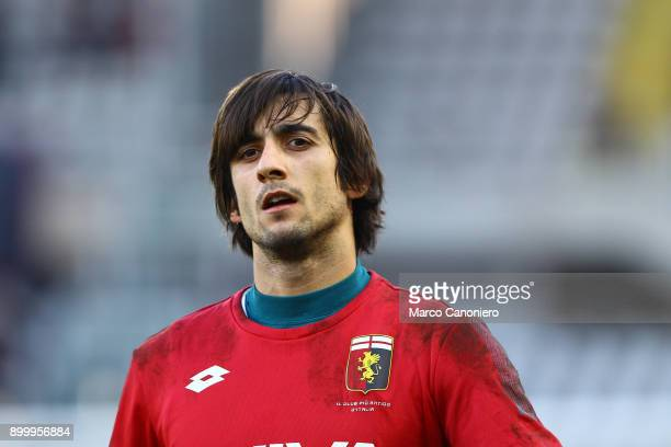 Mattia Perin of Genoa CFC looks on before the Serie A football match between Torino Fc and Genoa Cfc