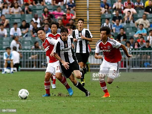 Mattia Vitale of Juventus FC during the match between Juventus FC and South China of Hong Kong at Hong Kong Stadium on July 30 2016 in Hong Kong Hong...