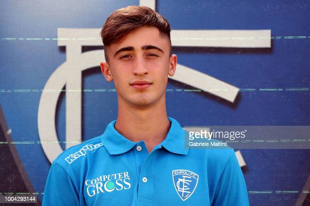 Mattia Viti of Empoli U19 on July 23 2018 in Empoli Italy