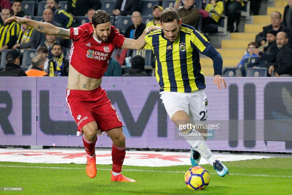 Mattias Bjarsmyr Of Sivasspor, Vincent Janssen Of