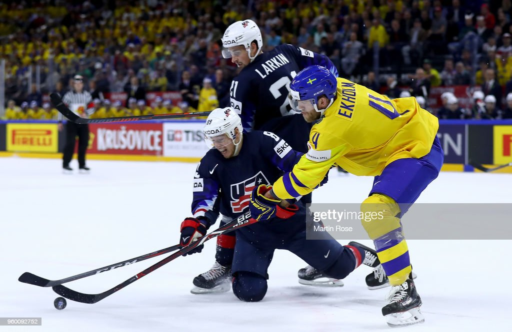 Sweden v USA - 2018 IIHF Ice Hockey World Championship Semi Final