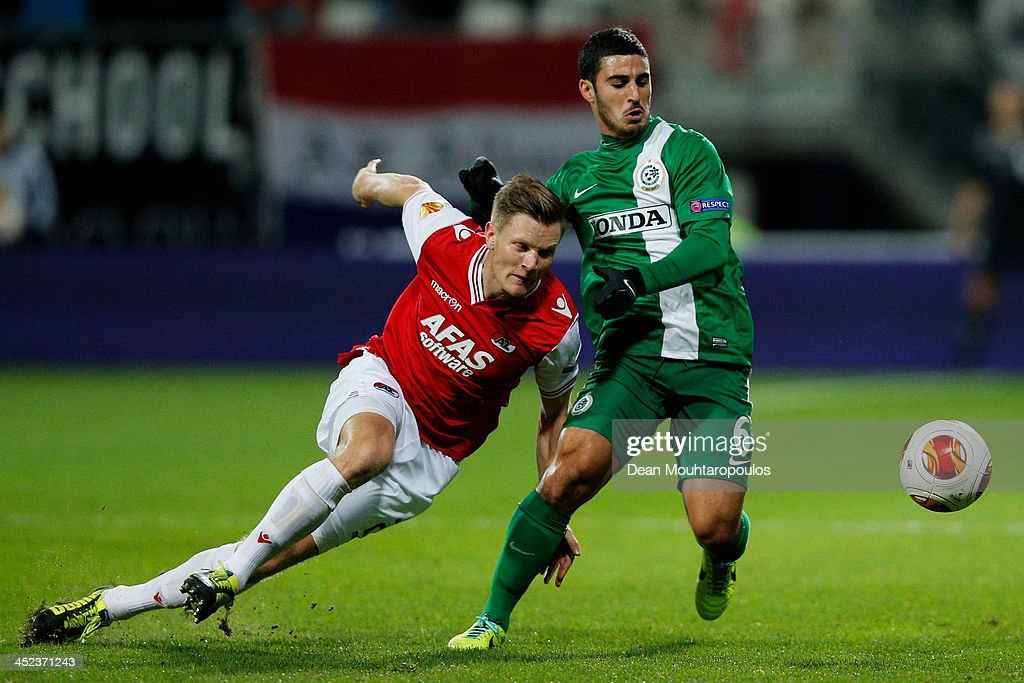 AZ Alkmaar v Maccabi Haifa FC - UEFA Europa League