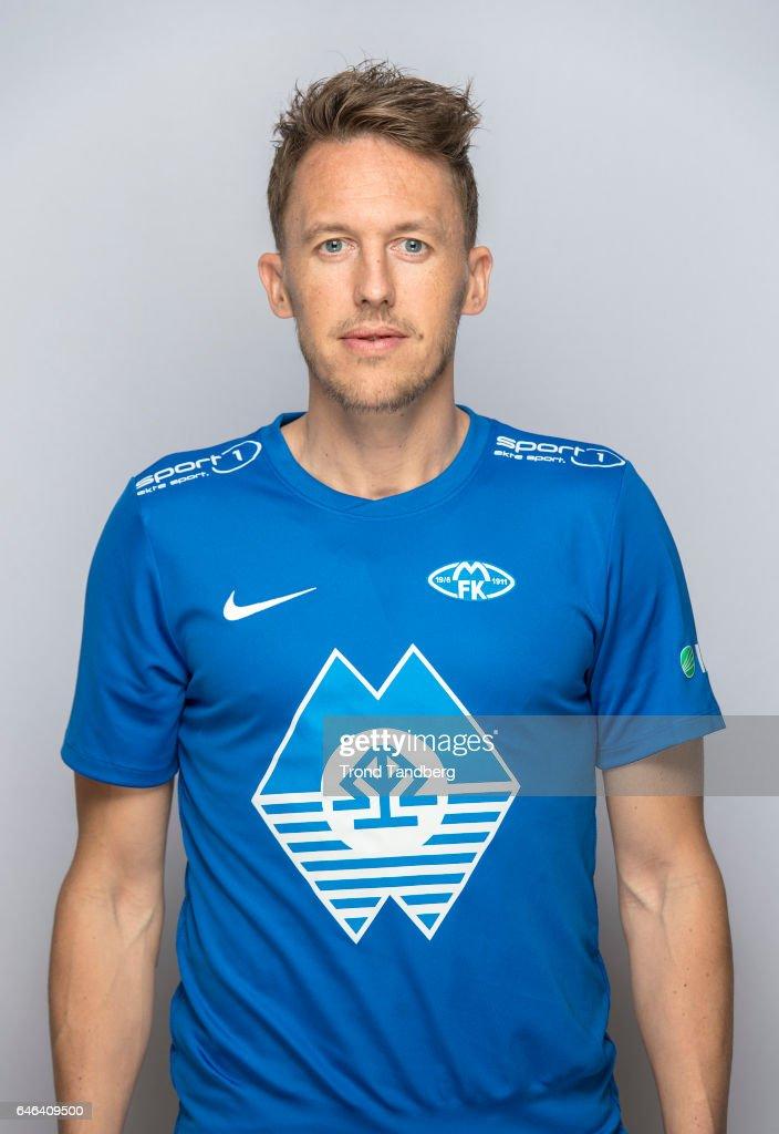 Mattias Mostrom of Team Molde FK Photocall on February 21, 2017 in Molde, Norway.