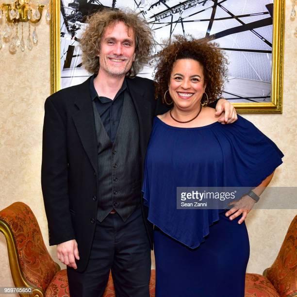 Mattias Qunkui and Marika Hughes attend National Sawdust 2018 Spring Gala at Alhambra Ballroom on May 10 2018 in New York City Mattias QunkuiMarika...