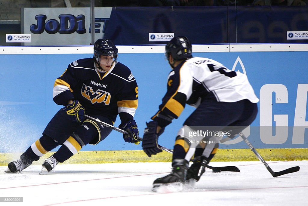 HV 71 Joenkoeping v Espoo Blues - IIHF Champions Hockey League : Foto di attualità