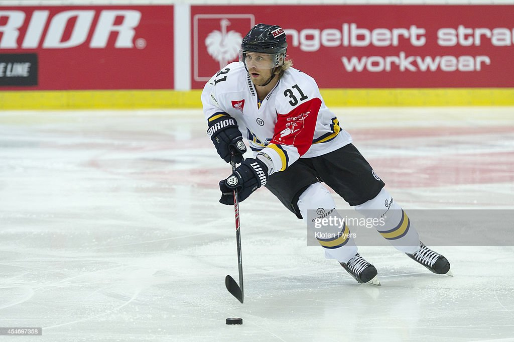 Kloten Flyers v HV71 Jonkoping - Champions Hockey League : Foto di attualità