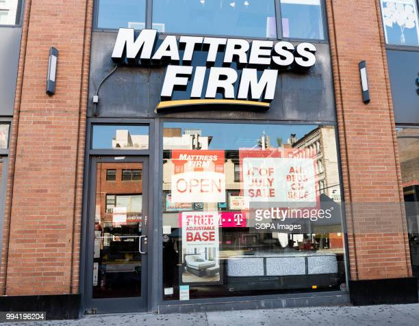 Mattress Firm store in New York City