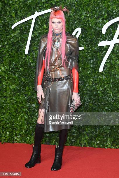 Matty Bovan arrives at The Fashion Awards 2019 held at Royal Albert Hall on December 02 2019 in London England